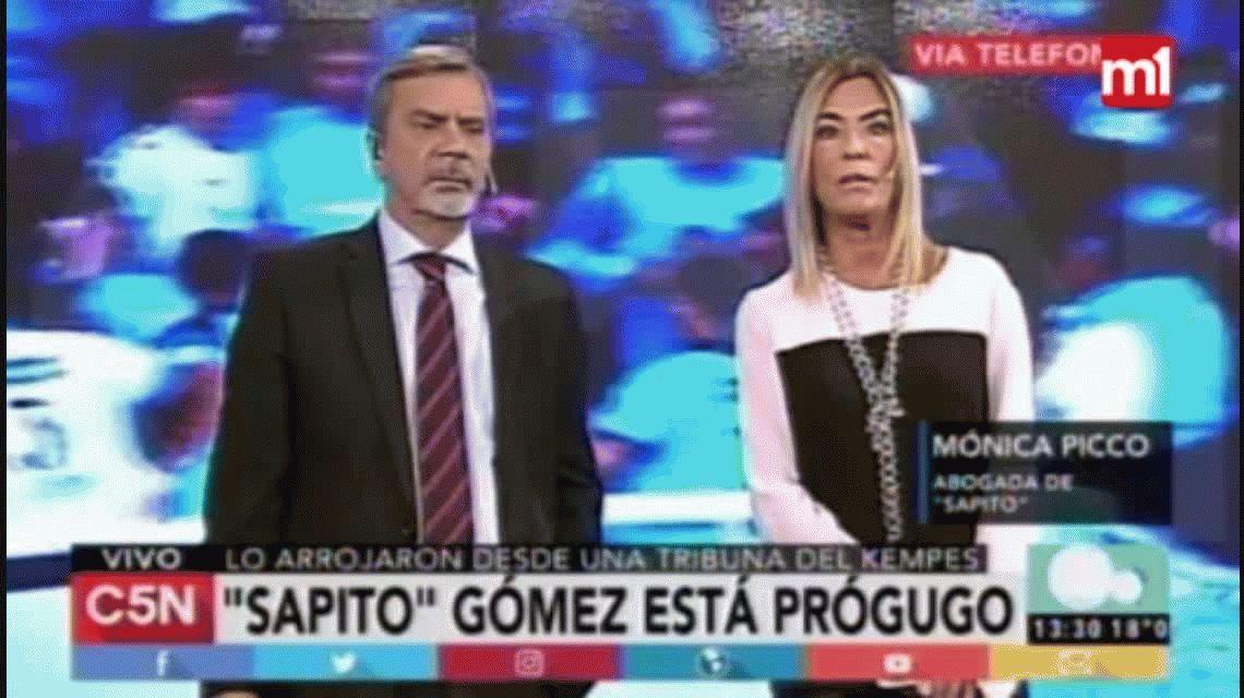 Habló la abogada de Sapito Gómez:Mi cliente no se ve en ningún video