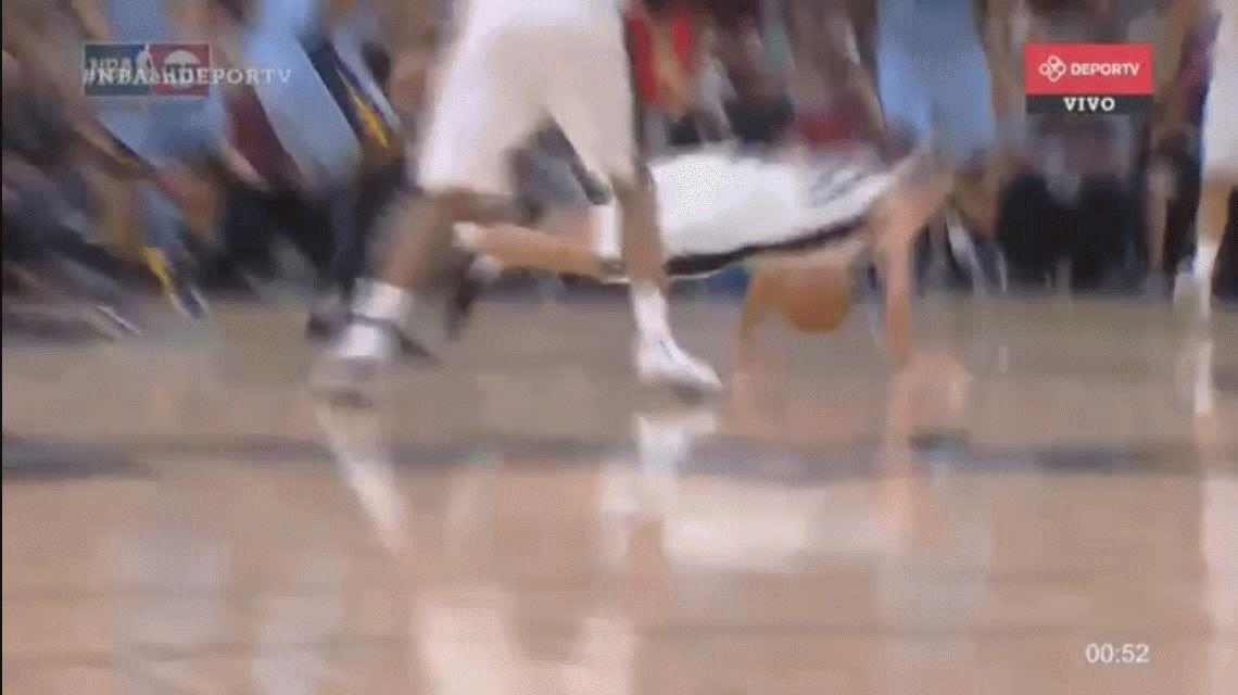 San Antonio Spurs, con 18 minutos de Ginóbili, volvió a ganar y está 2-0 ante Memphis