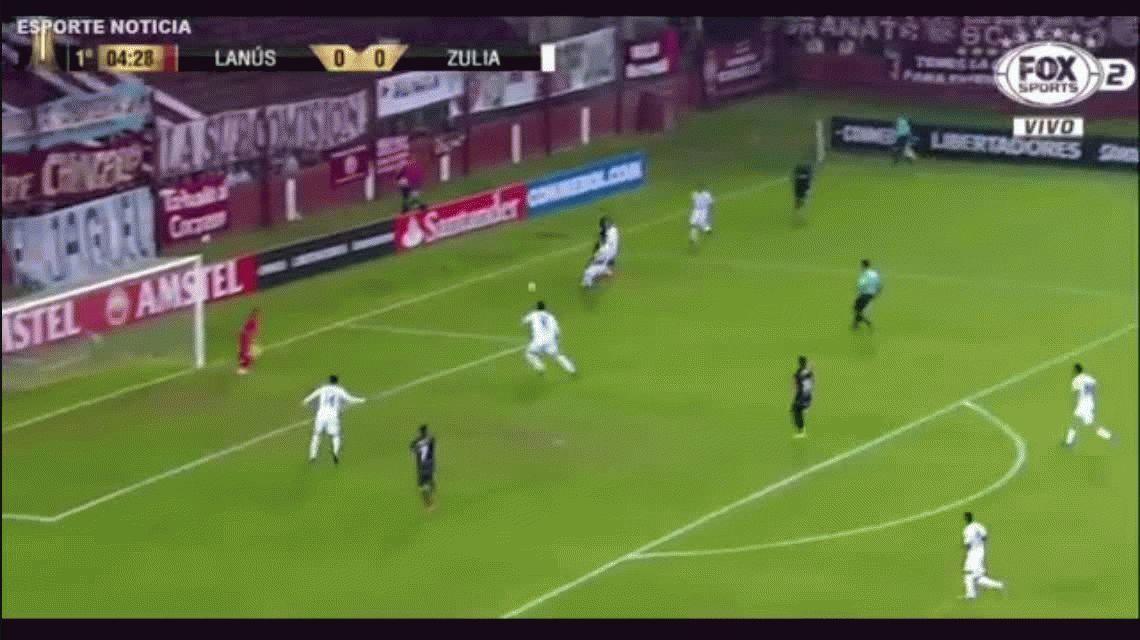 Lanús no tuvo piedad y vapuleó al modesto Zulia en el Sur por la Libertadores