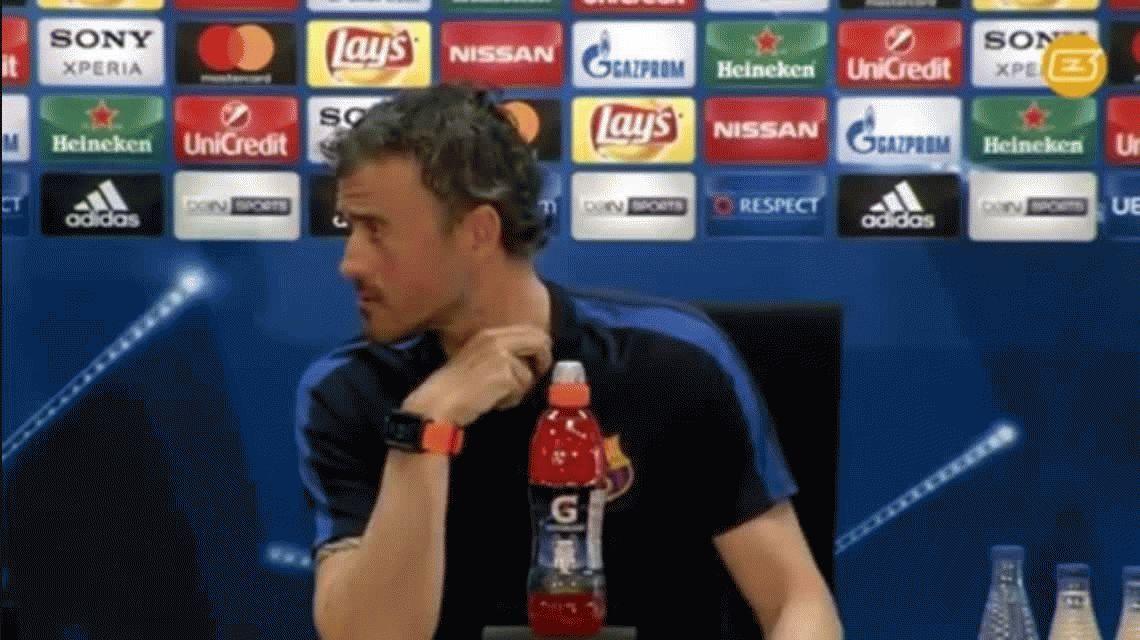 El insólito pedido de Luis Enrique a los hinchas del Barcelona para el partido con Juventus
