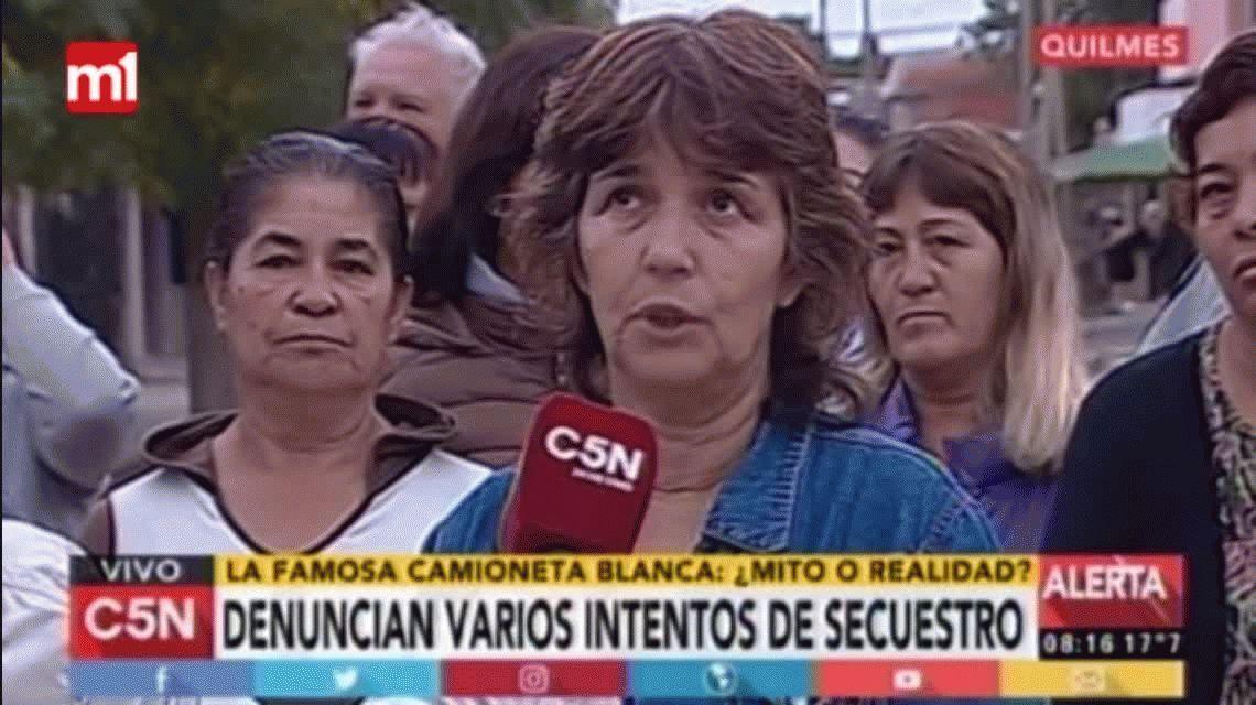 Vecinos denuncian varios intentos de secuestro en Quilmes