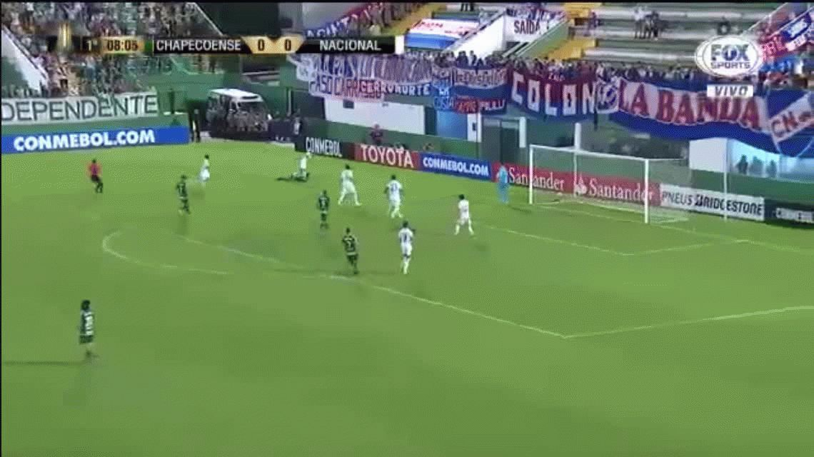 El gol que no pudo ser: la pelota caminó por la línea pero no entró