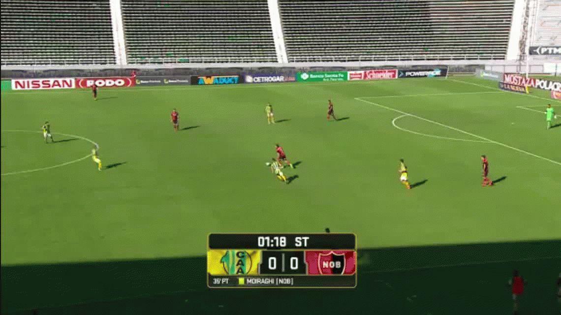 Newells se impuso a Aldosivi y le mete presión al puntero Boca