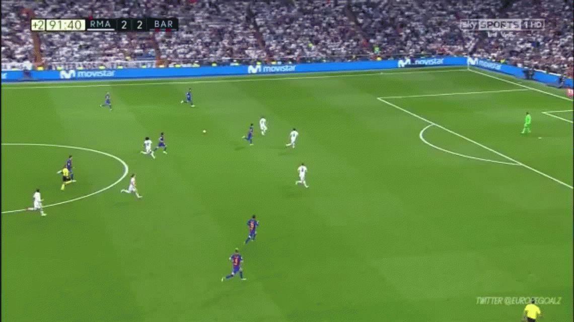 Marcelo se hizo cargo de la derrota del Real Madrid ante el Barcelona