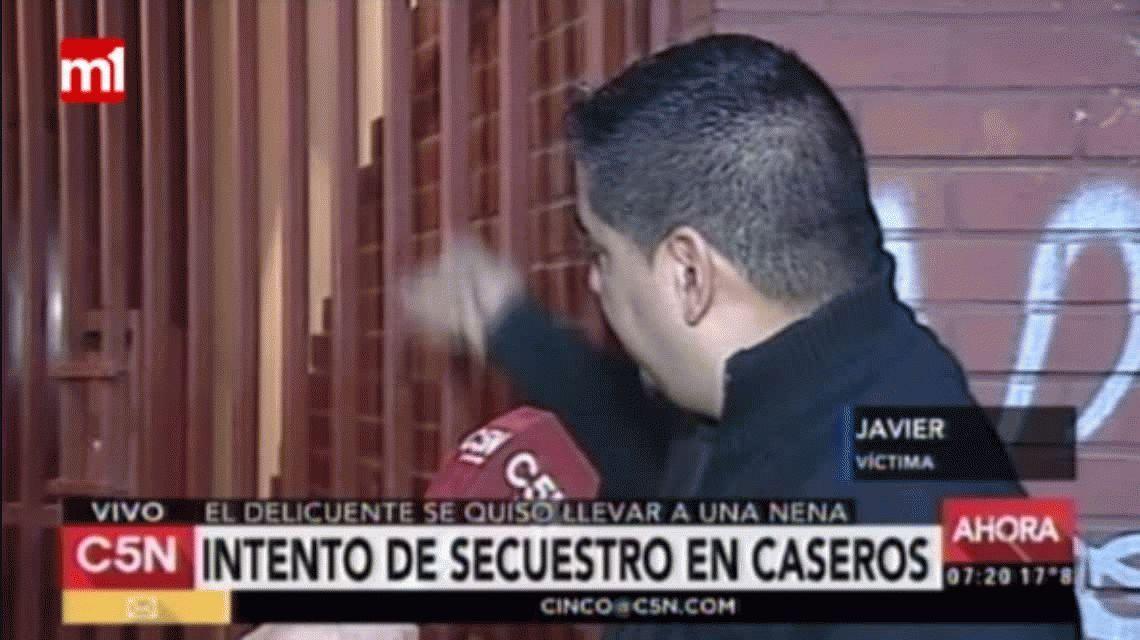 Intentaron secuestrar a una nena de tres años de su casa en Caseros