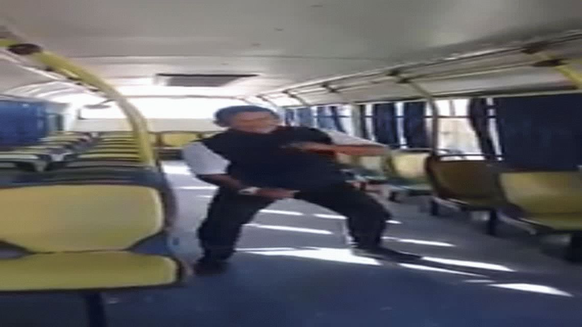 VIDEO: el baile del colectivero hot que Tinelli quiere para el Bailando