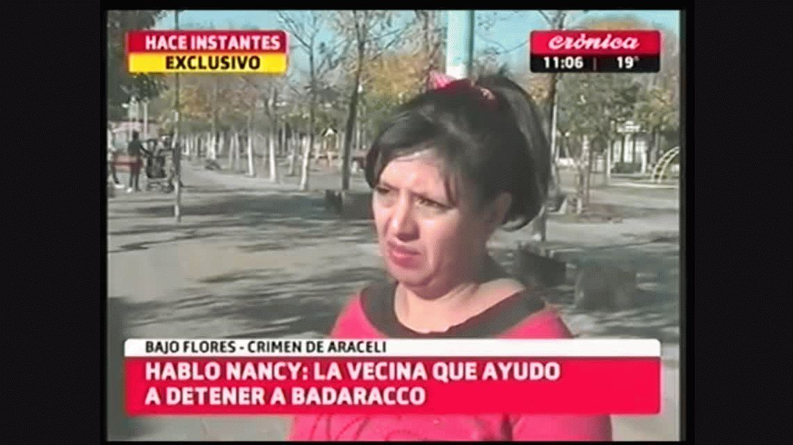 Habló la vecina que reconoció a Badaracco en Flores: Estaba sucio y desconcertado