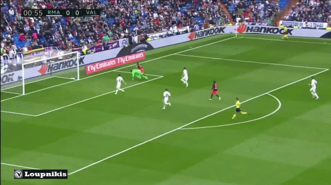 Real Madrid sufrió ante Valencia pero lo salvó Marcelo y sigue líder