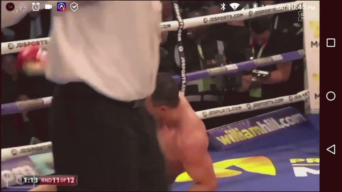 En la pelea del año, el joven Joshua venció a Klitschko por nocaut técnico