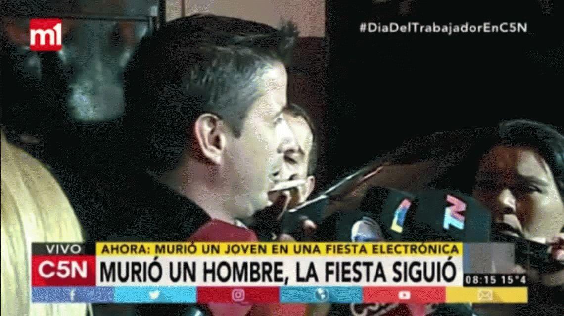 Un hombre de 44 años murió en una fiesta electrónica en San Telmo