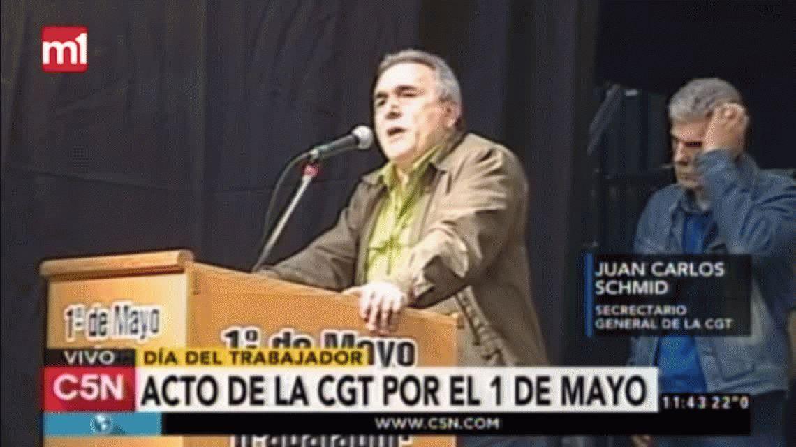La CGT criticó la política económica de Macri: No se hace lo que se tiene que hacer