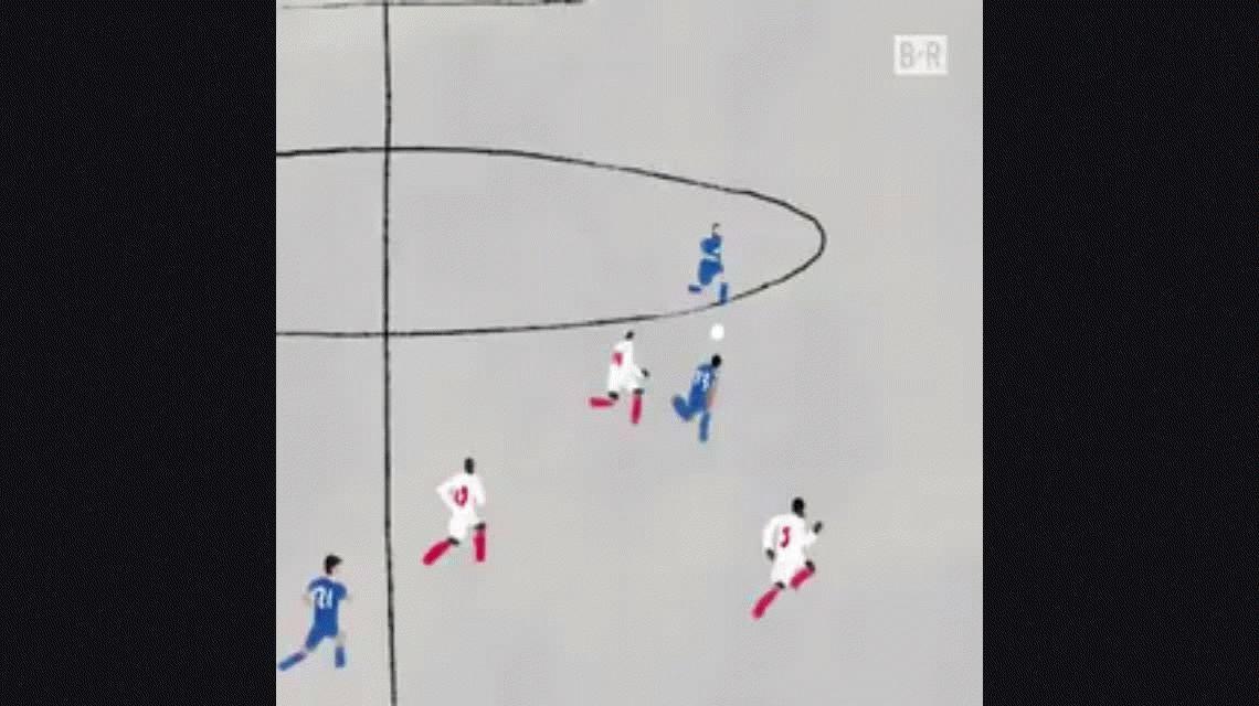 Mirá la imperdible versión animada del golazo de Gonzalo Higuaín en Mónaco
