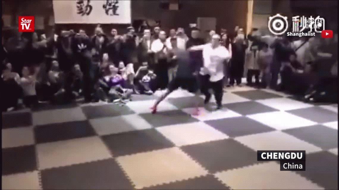 VIDEO: La pelea entre un profesor de MMA y un maestro de Tai Chi