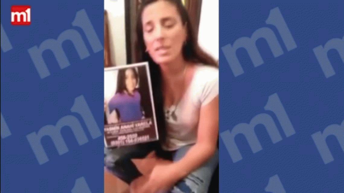 La madre de Yasmín publicó un video: Pensar que la tienen cautiva me desespera