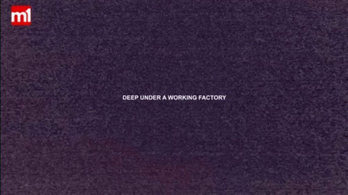 VIDEO: Fue a caminar por una fábrica y descubrió un refugio nuclear