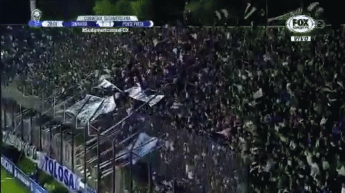 Gimnasia empató con Ponte Preta como local y quedó eliminado de la Sudamericana