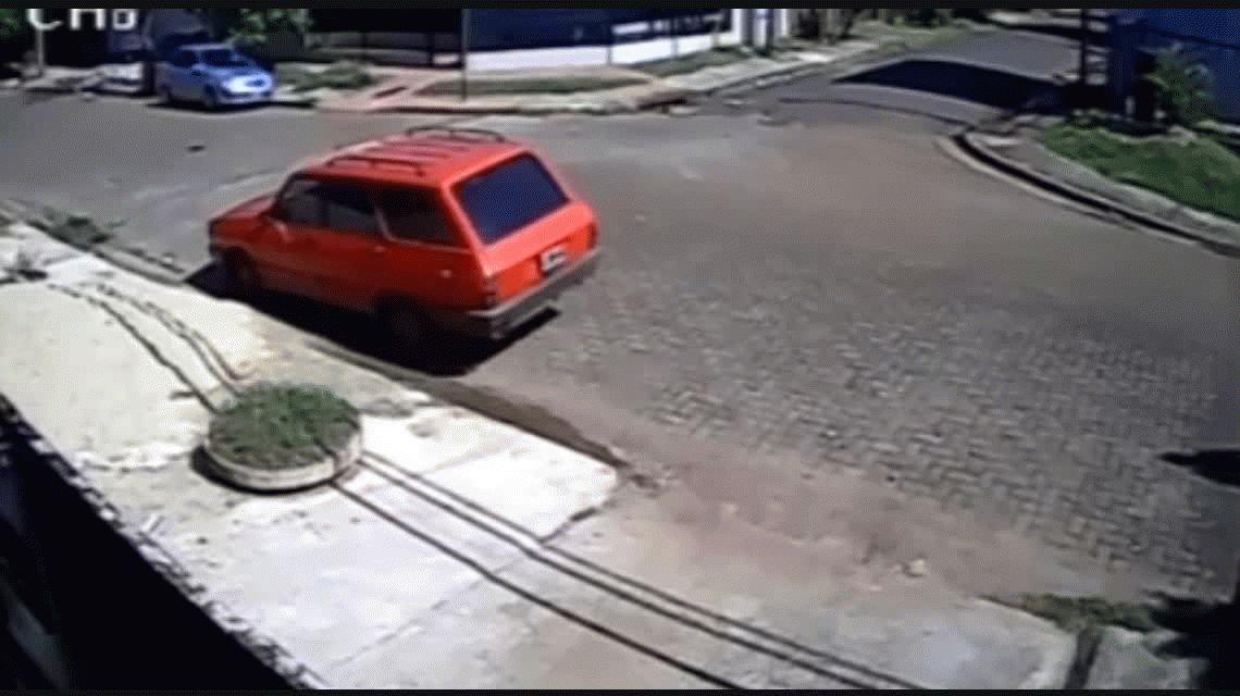 Motochorros asaltaron a una anciana en Misiones