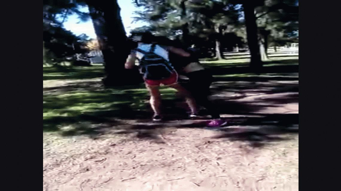 Santa Fe: violenta pelea entre dos chicas en un parque