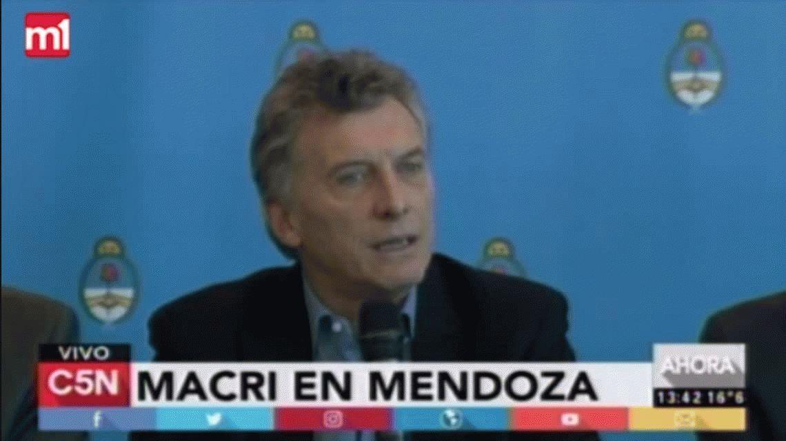 Macri habló sobre el 2 x 1 a represores: Siempre estuve en contra