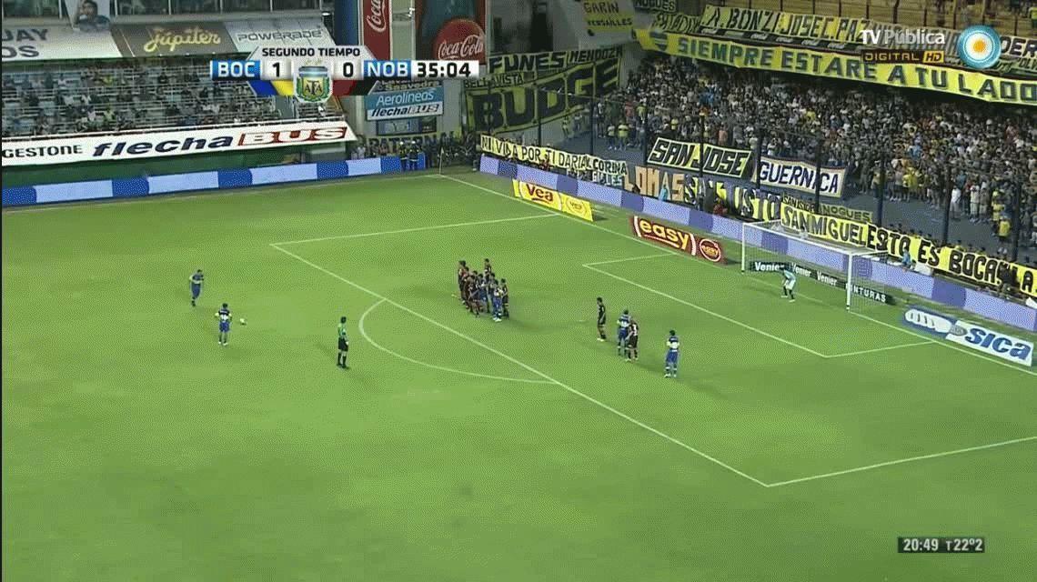 A 3 años del último partido de Riquelme en Boca: sus mejores goles de tiro libre