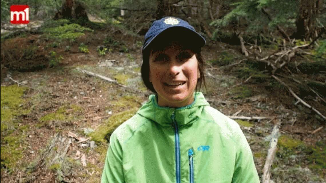 Habló la montañista rescatada en Canadá