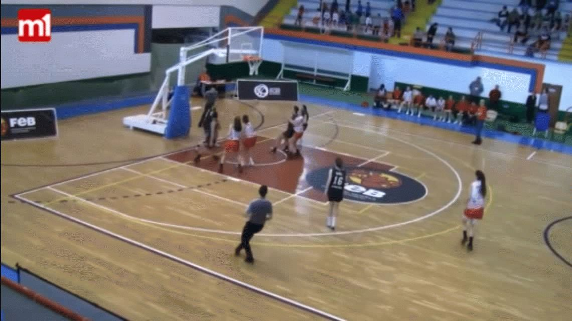 El noble gesto de las jugadoras de Estudiantes en España