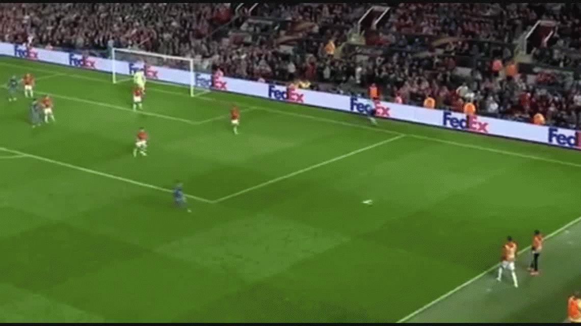 El Manchester de Romero empató ante Celta y está en la final de la Europa League