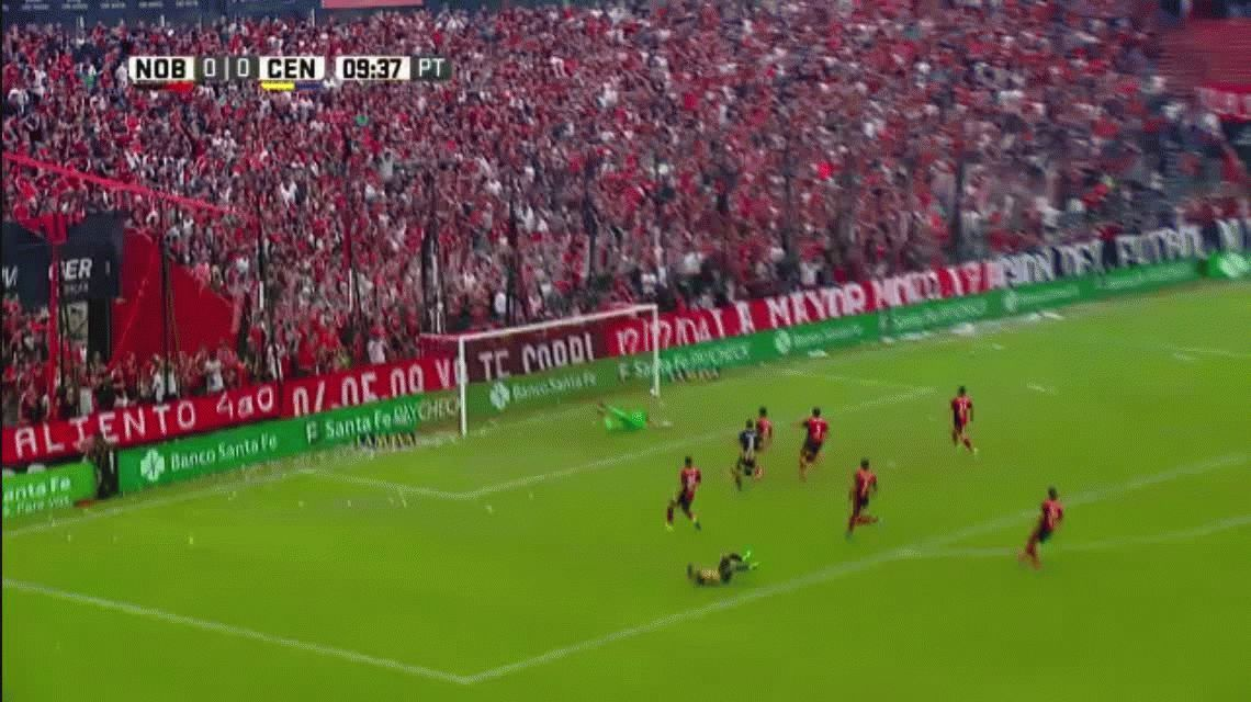 VIDEO: El imperdible golazo de Federico Carrizo ante Newell´s