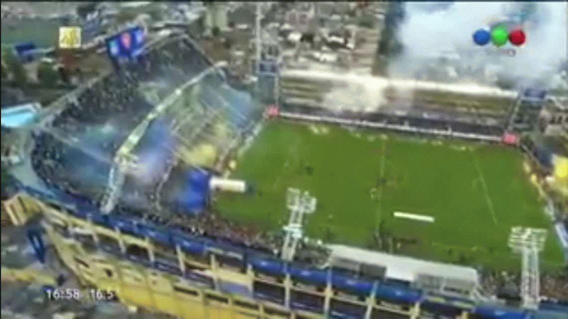 La Bombonera latió: así fue el recibimiento de Boca antes del Superclásico