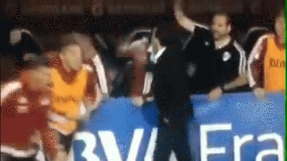 Un tierno: el besito de Marcelo Gallardo a los plateístas de Boca