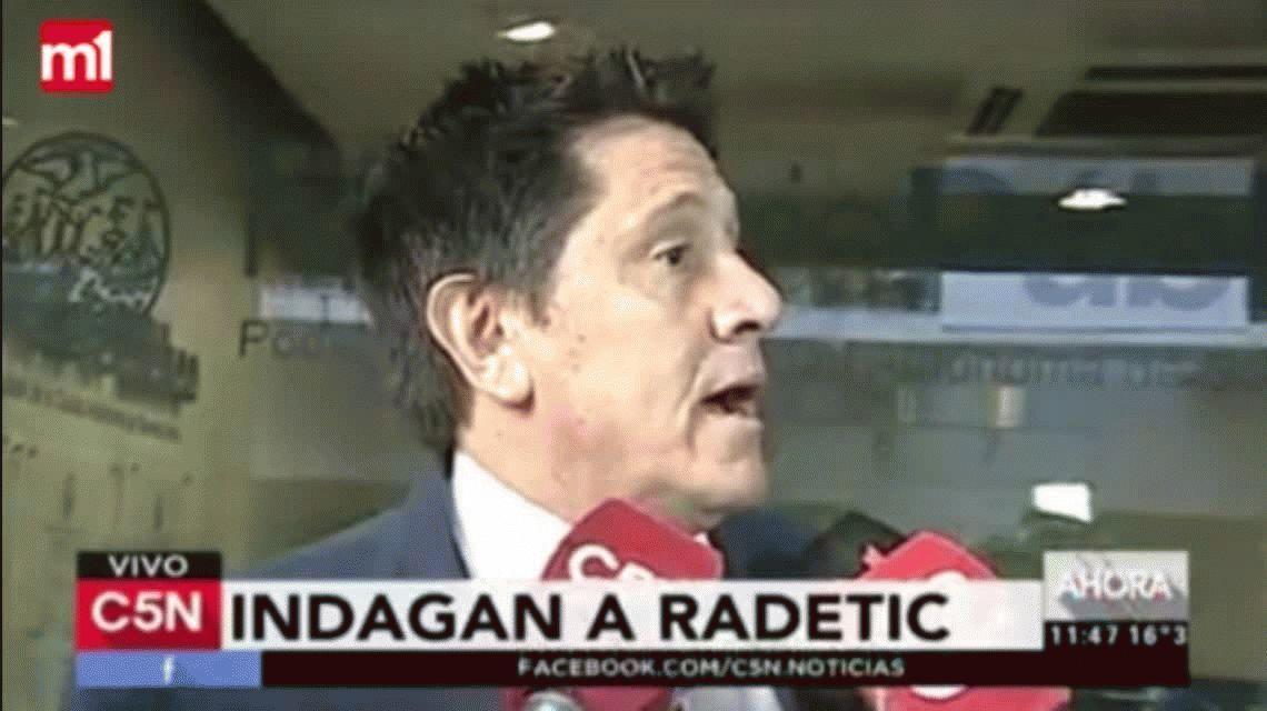 El abogado de Radetic explicó el acuerdo que lograron con la Justicia