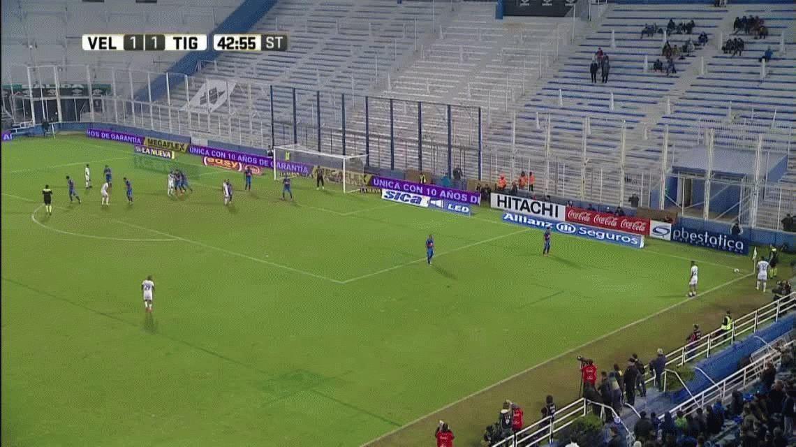 Sobre la hora, Vélez derrotó a Tigre en un duelo fundamental