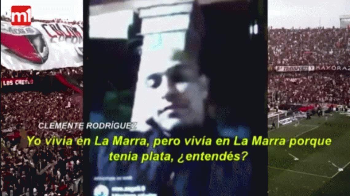 Clemente Rodríguez cruzó a Brítez desde Instagram: Sos un muerto