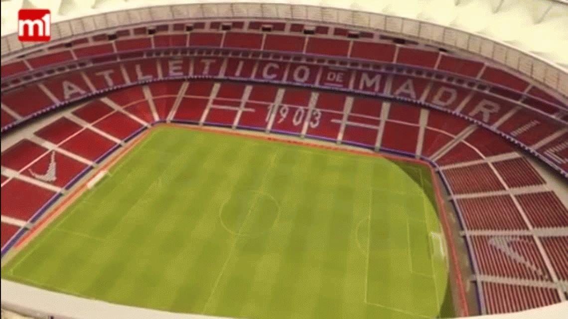 Atlético Madrid adelantó cómo será el nuevo estadio Wanda Metropolitano