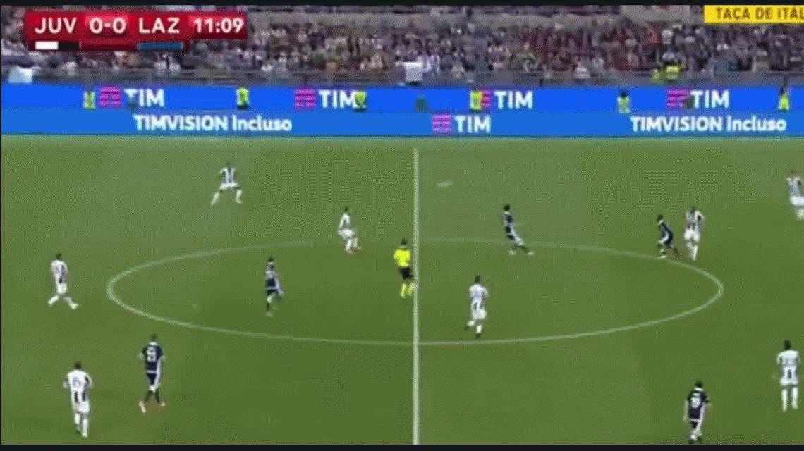 Juventus ganó la Copa Italia ante Lazio y va por el triplete