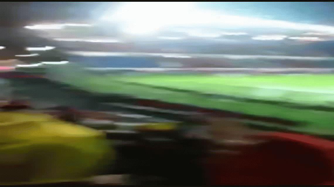 No les sirvió de mucho: antes de ser eliminados, hinchas de Flamengo cantaron canciones de Huracán