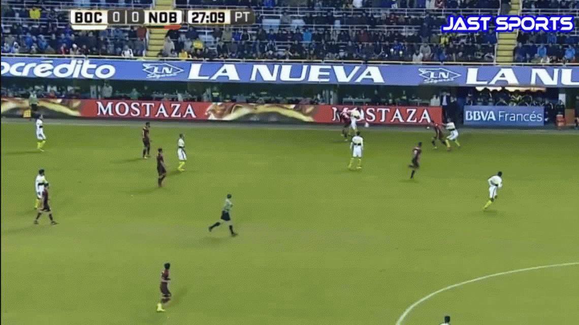 Con un golazo de Benedetto, Boca le ganó a Newells en la Bombonera