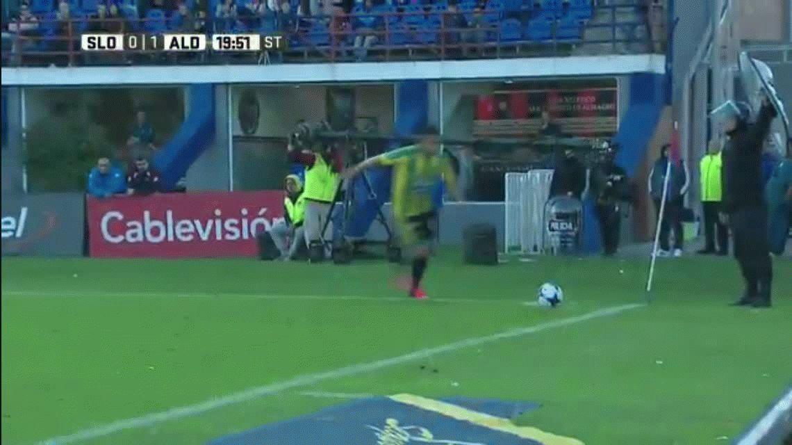 Aldosivi sorprendió a San Lorenzo y lo dejó lejos del puntero Boca