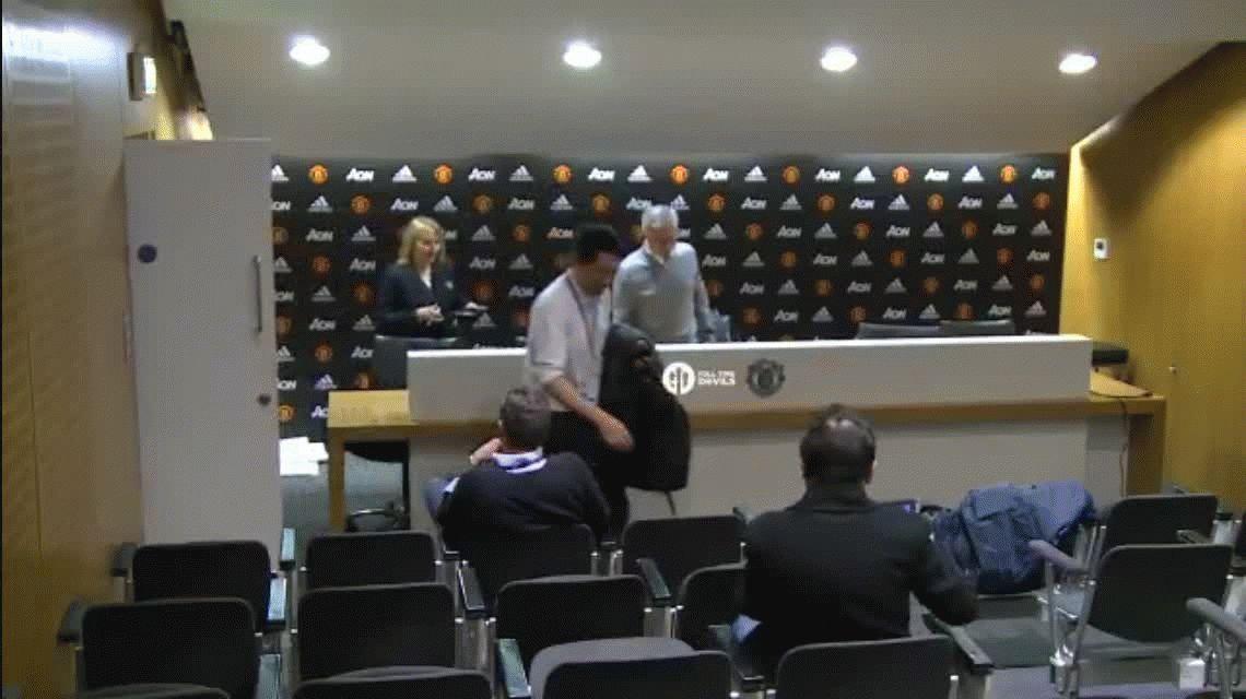 José Mourinho protagonizó la conferencia de prensa más corta