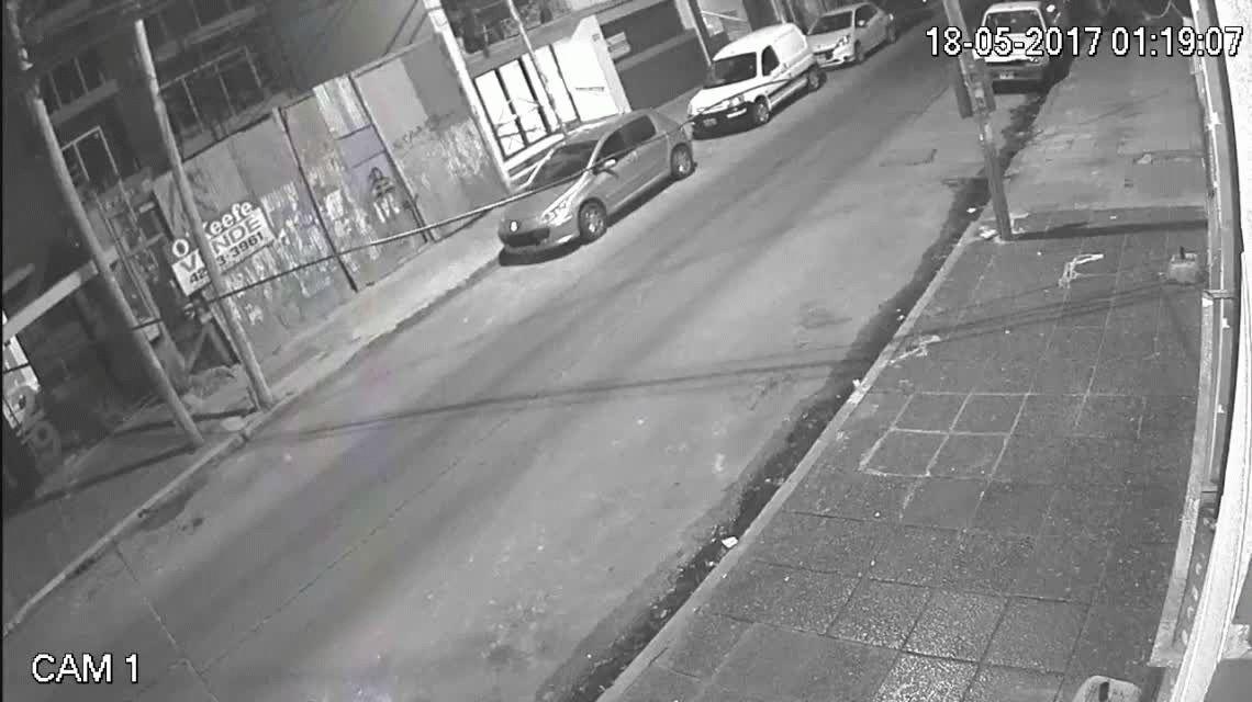 Así intentaron robar un auto en Quilmes