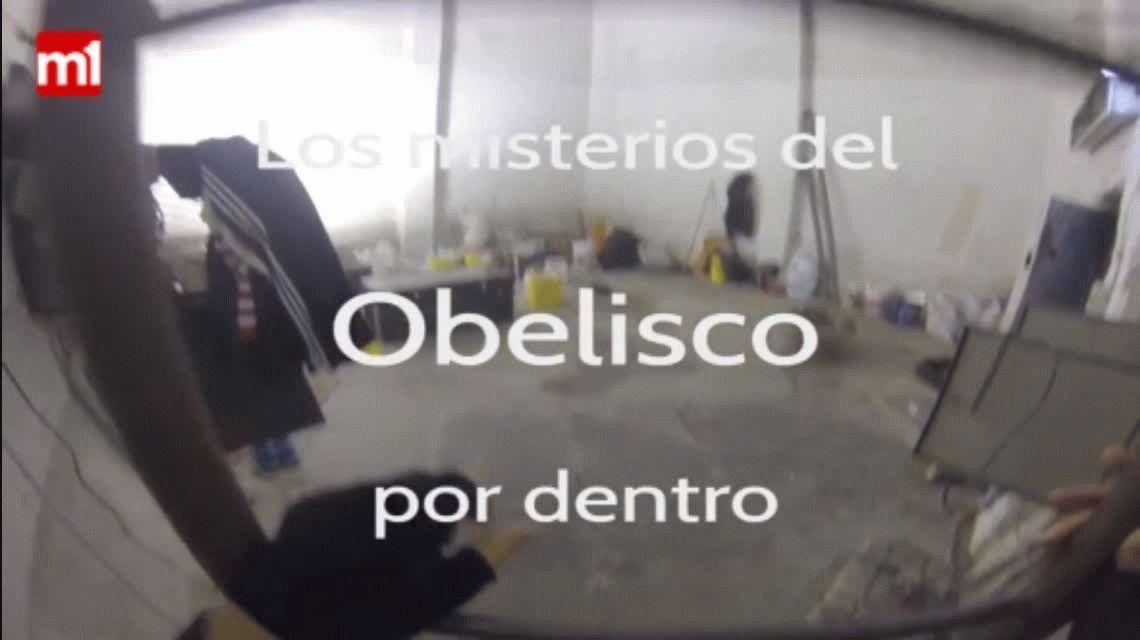 VIDEO: así se suben los 206 escalones hasta la punta del Obelisco