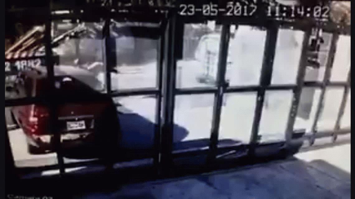 Violenta salidera bancaria en Ramos Mejía