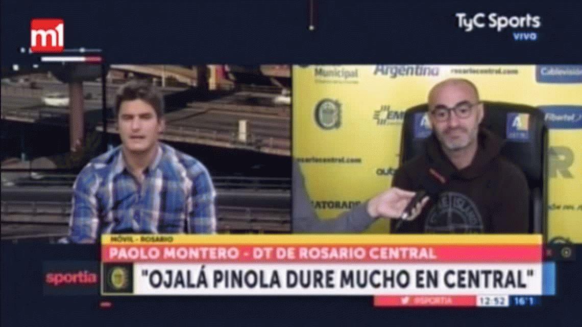 Paolo Montero, sobre Lavezzi: Se muere por jugar en Rosario Central