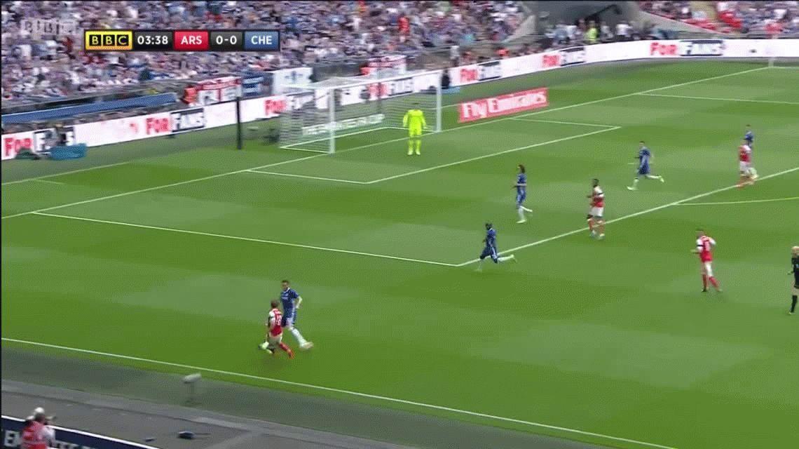 Con un gol de Alexis Sánchez, Arsenal venció a Chelsea y ganó la FA Cup
