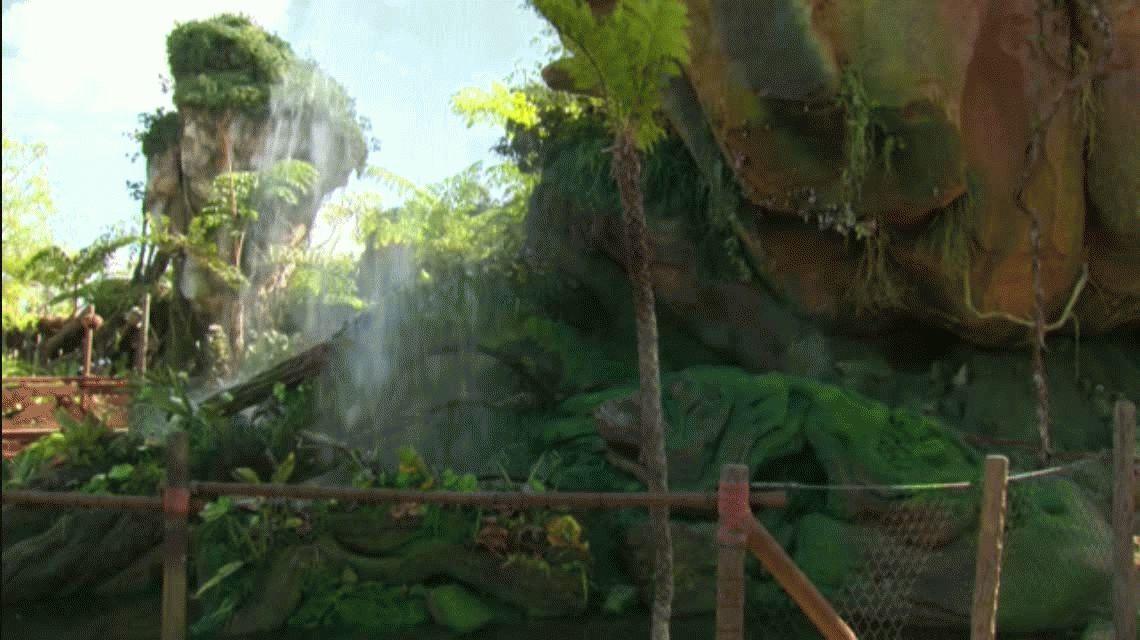 Pandora, el parque temático de Disney inspirado en Avatar