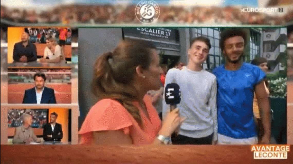 Maxime Hamou, expulsado de Roland Garros por acoso, ya se anotó en otro torneo