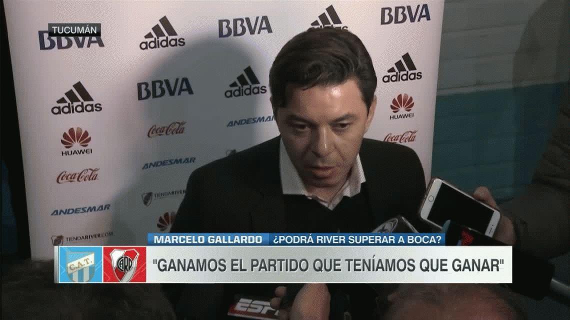 Gallardo se mostró molesto por el horario del San Lorenzo vs. River