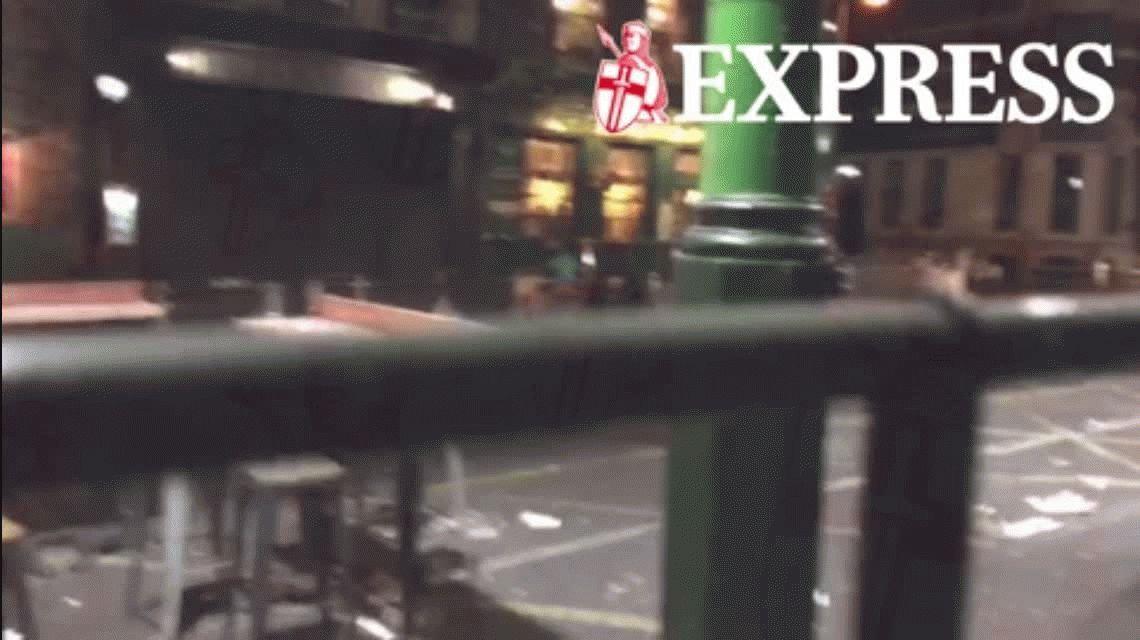 VIDEO: la caminata de los terroristas antes de la masacre en Londres