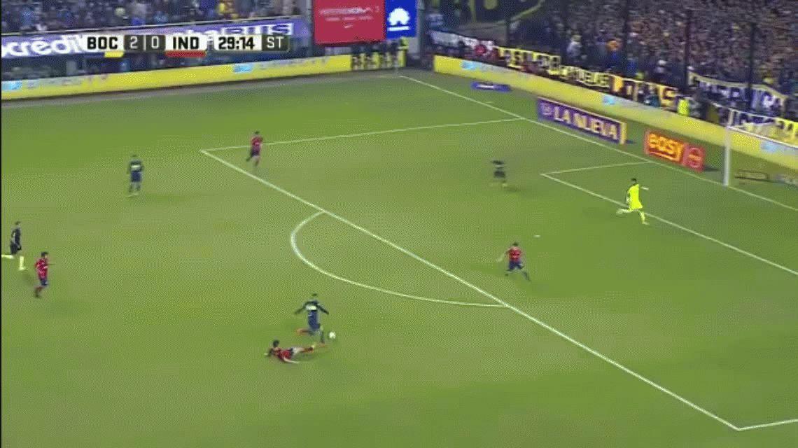 Boca se floreó ante Independiente y dio un paso gigante hacia el título