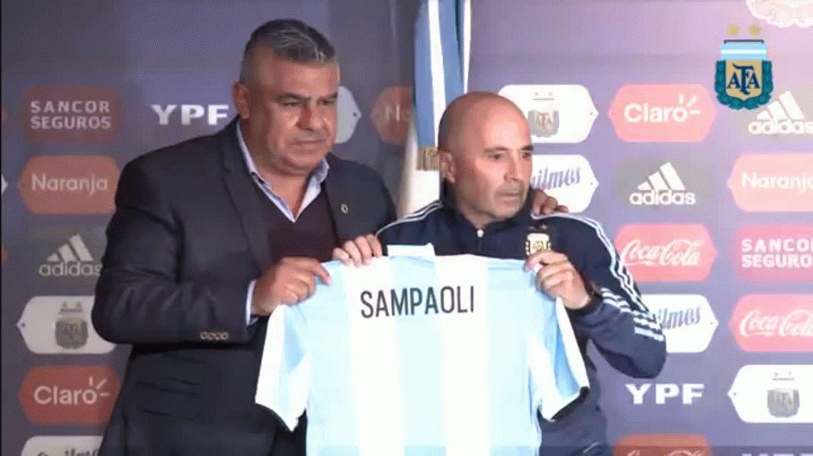 Sampaoli, íntimo: su primera entrevista exclusiva como DT de la Selección